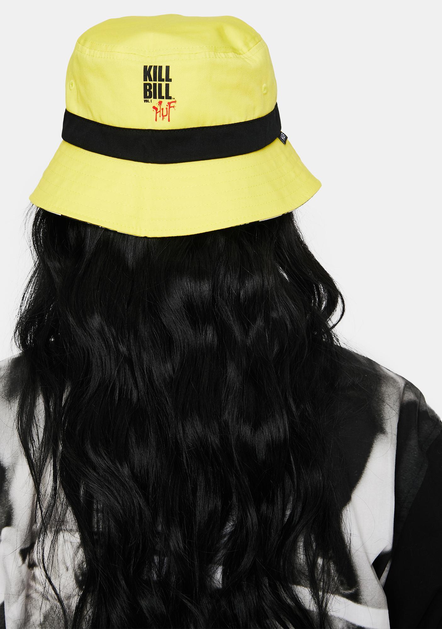 HUF Kill Bill Reversible Bucket Hat