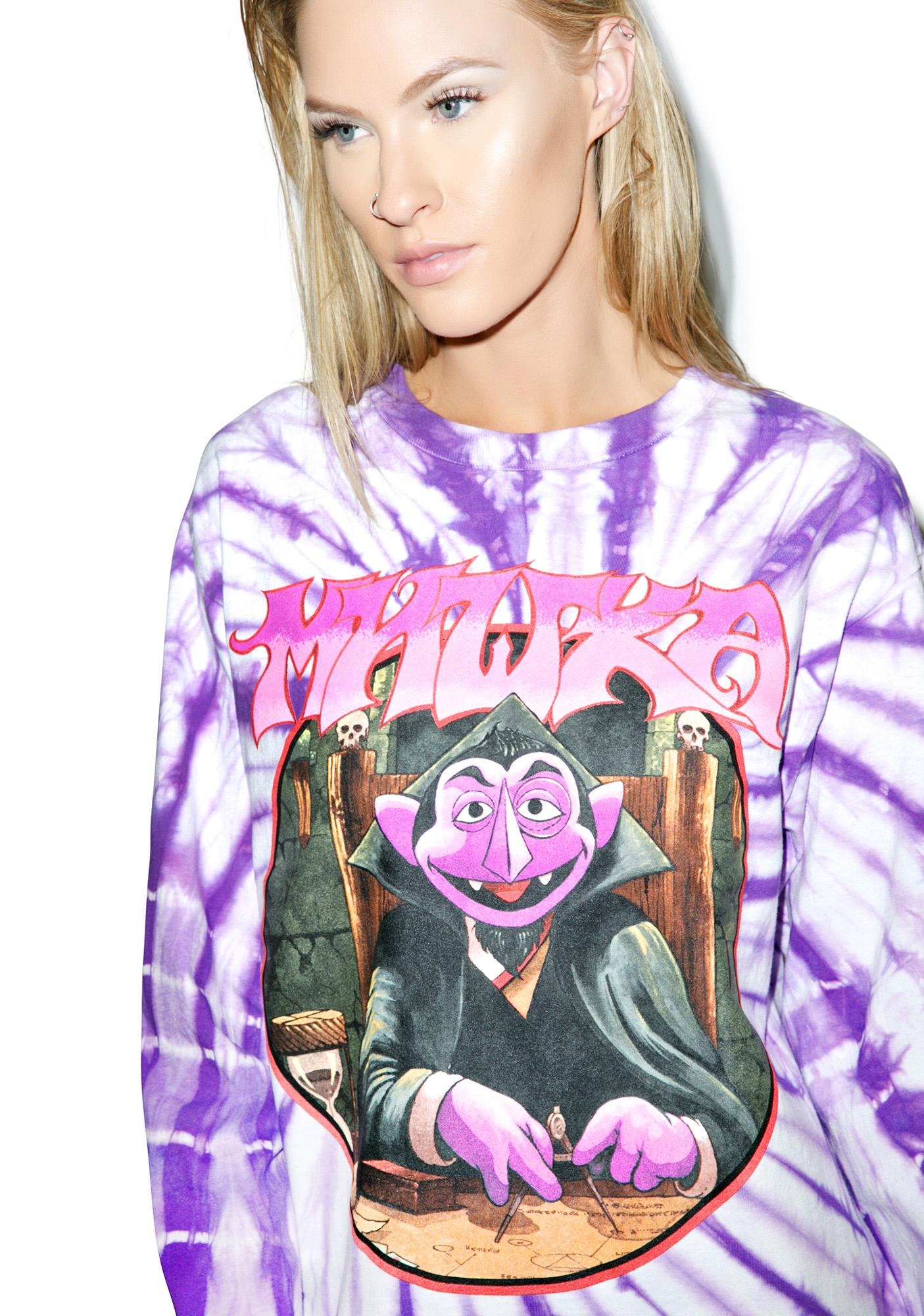 Mishka Count Von Count Long Sleeve Tee