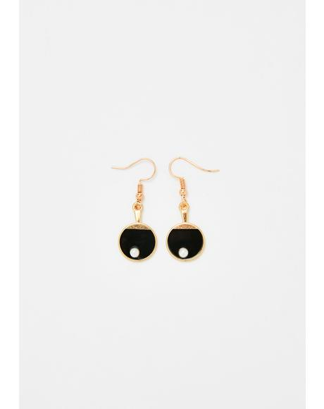 Back N' Forth Ping Pong Earrings