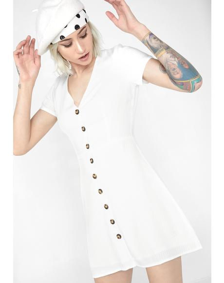 Pure Intentions Mini Dress