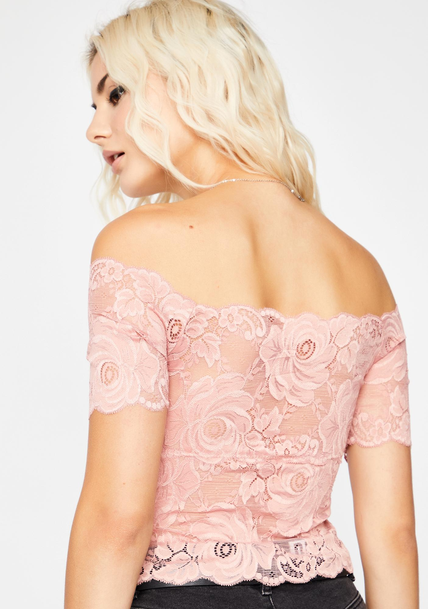 Baby Lovesick Loner Lace Top