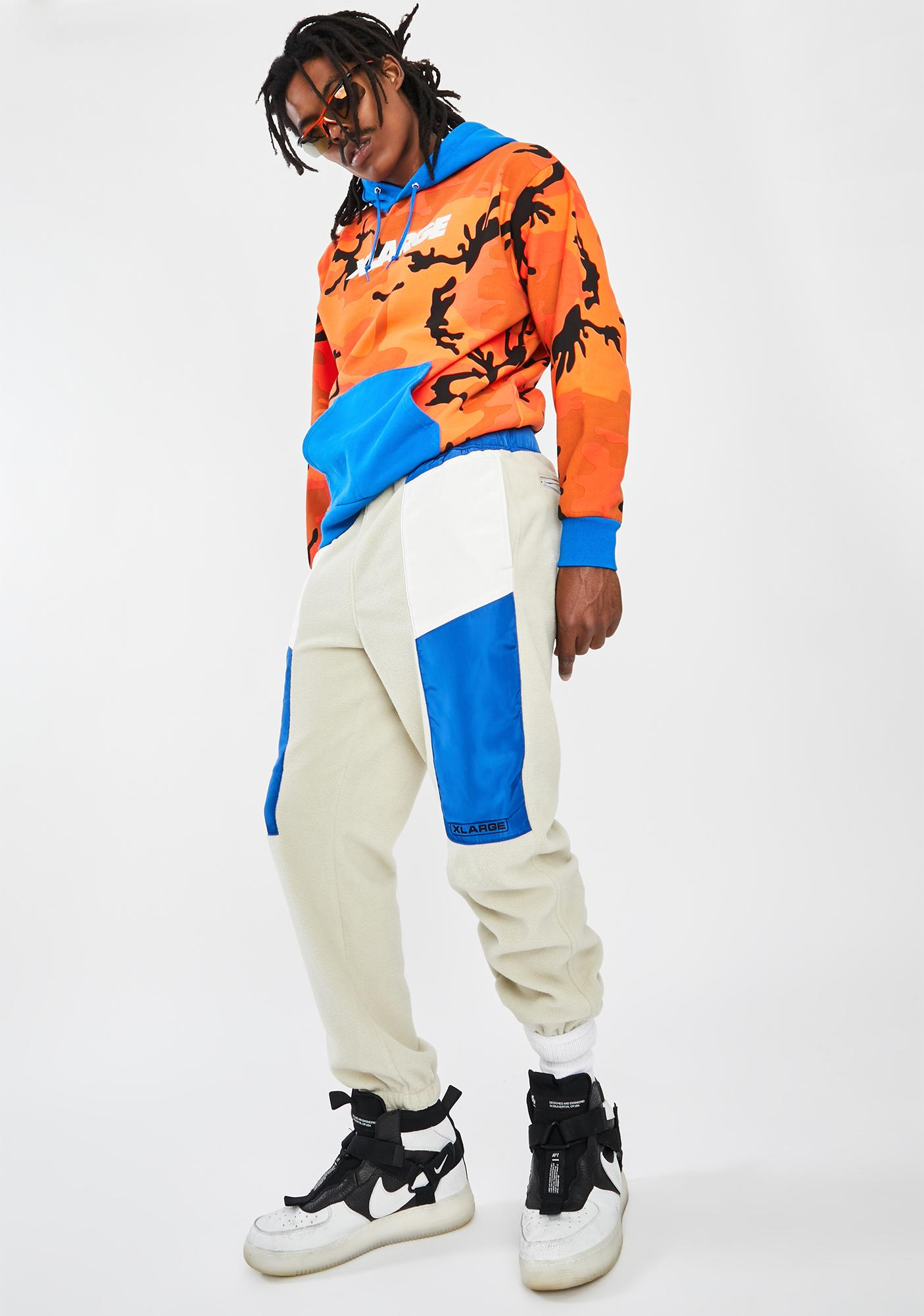 XLARGE White Multi Paneled Easy Pants