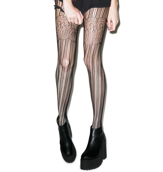 Lip Service Duchess Tights
