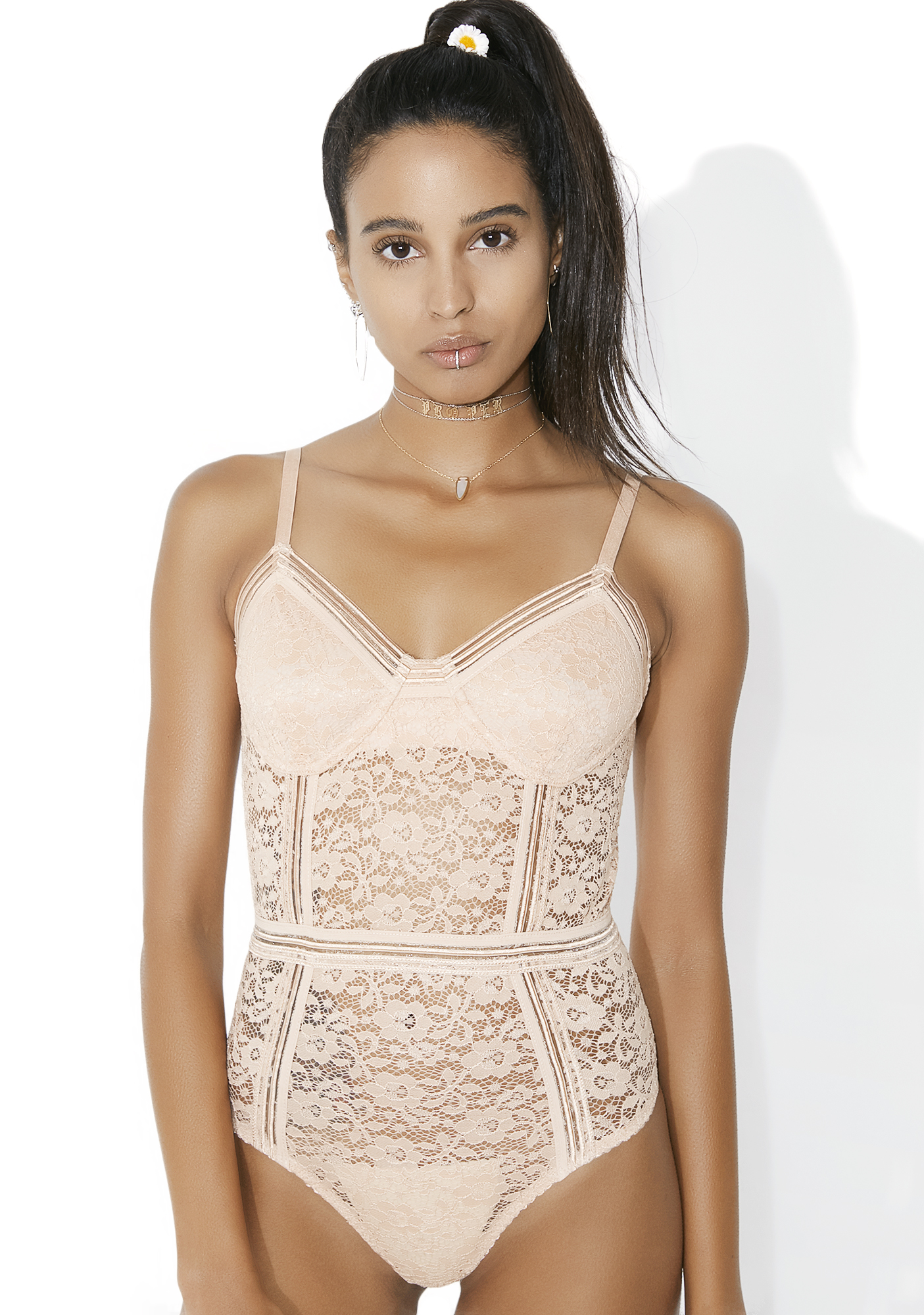 Eye Candy Lace Bodysuit