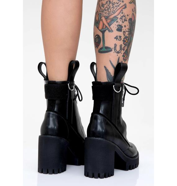 Disturbia Nocturne Platform Boots