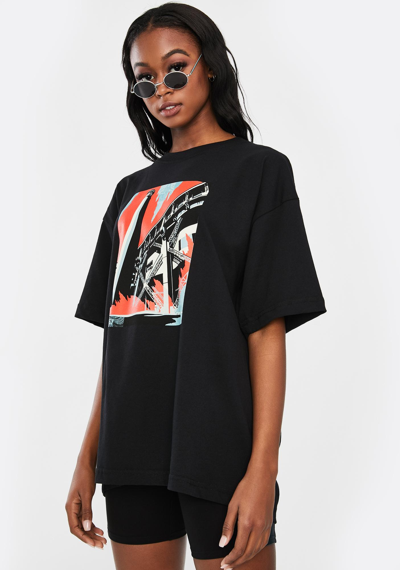 Obey Fossil Factory Sustainable Tee