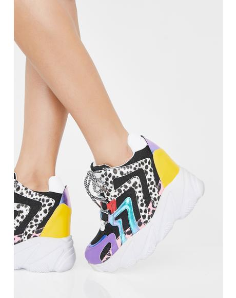Life On Paws Platform Sneakers