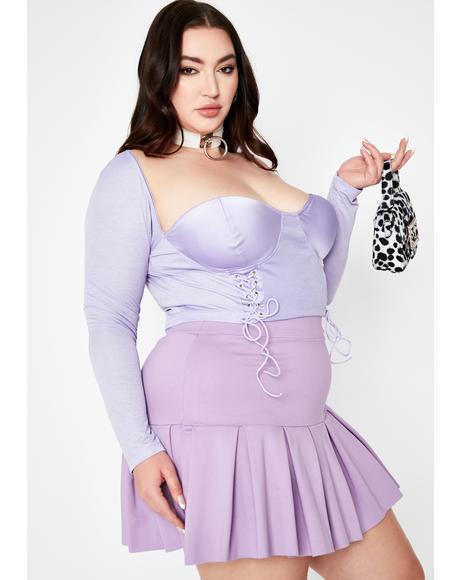 Fairy Divine Sinful Presence Bustier Crop Top
