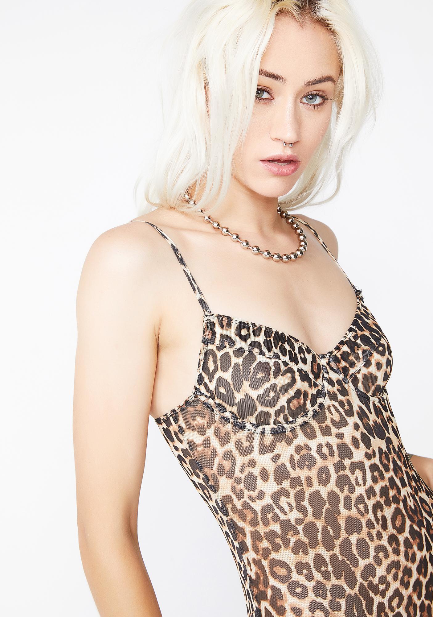 In The Wild Leopard Bodysuit