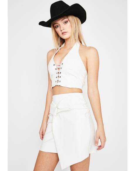 Easy Attraction Mini Skirt