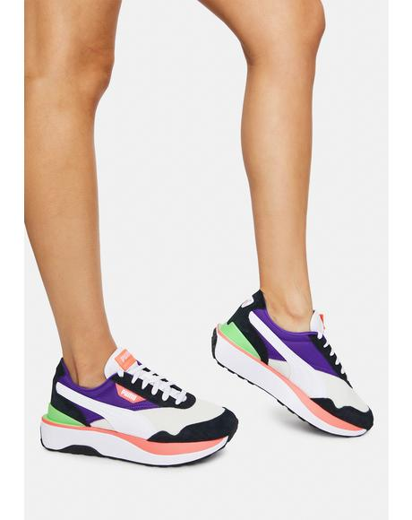 Rainbow Silk Road Cruise Rider Women's Sneakers