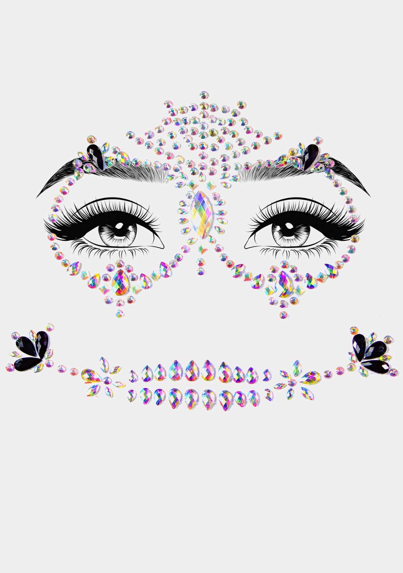 Dead Glam Face Jewels