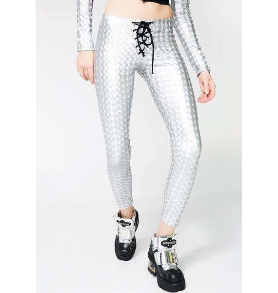 Club Exx Hyperion Hologram Leggings
