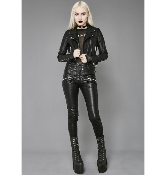 Widow Love In Vein Moto Jacket