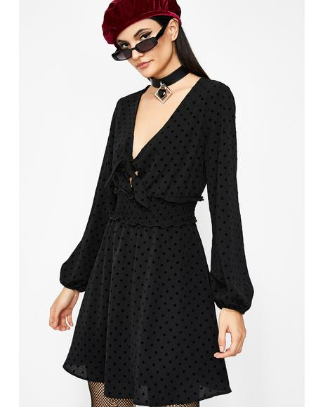 Pretty Posh Polka Dot Dress