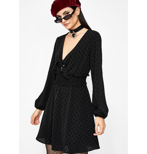 Pretty Posh Polka Dot Dress