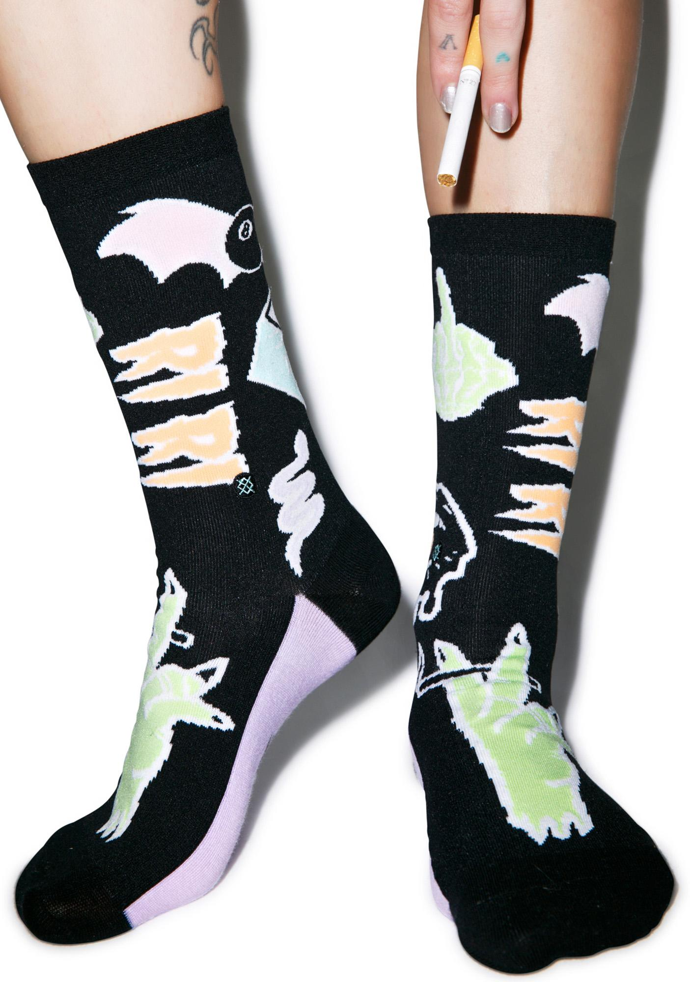 Stance Punk N Patch Crew Socks