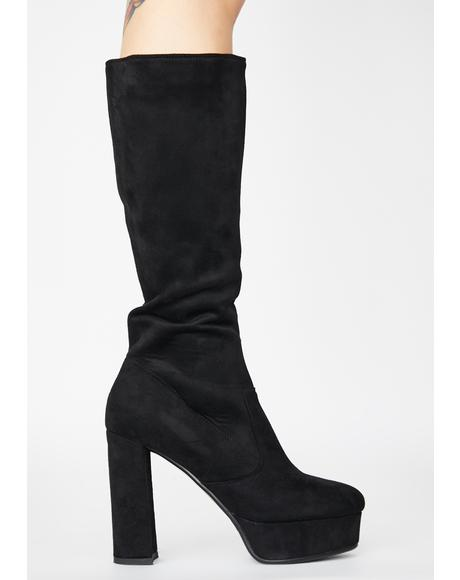Become Long Suede Boots