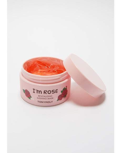 I'm Rose Revitalizing Sleep Mask
