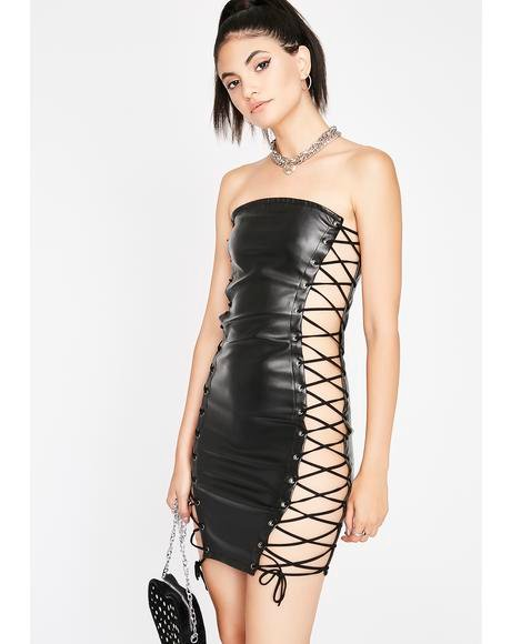 BDSM Baddie Mini Dress