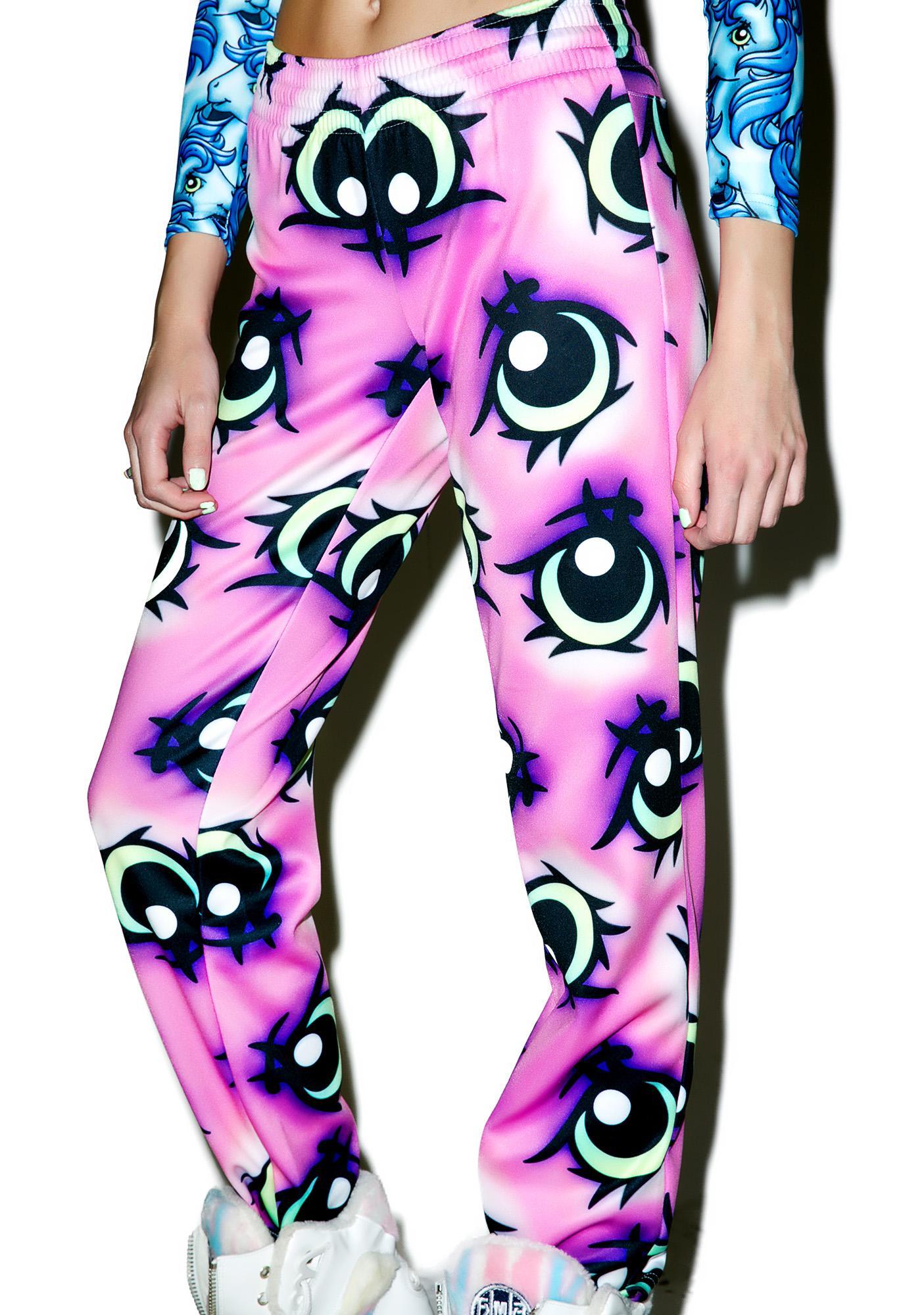 Alice Vandy My Little Pony Eyes Track Pants