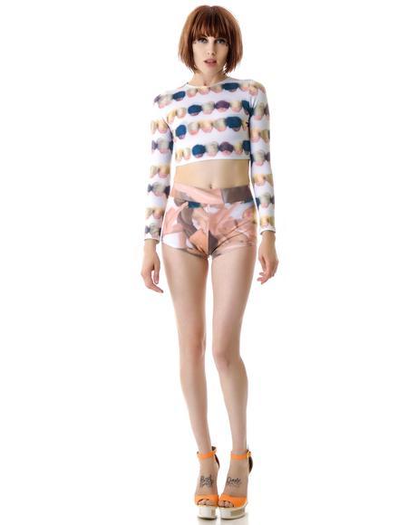 Broken Dolls Short Shorts