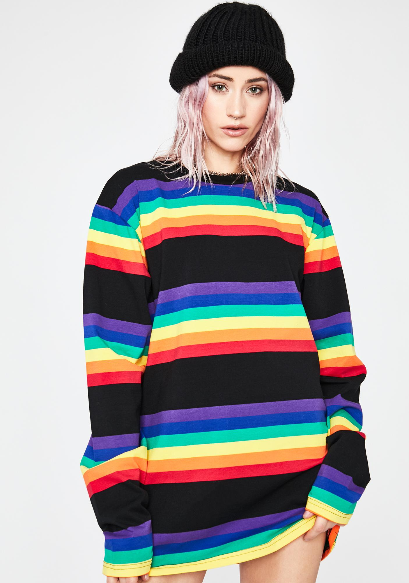 Current Mood Hometown Dropout Stripe Tee
