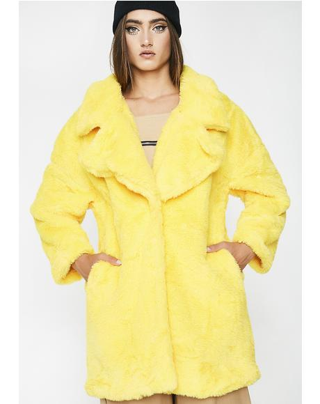 Lemon Spill My Emotions Jacket