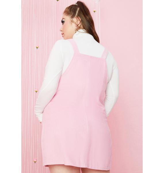 Sugar Thrillz Eternal Budding Beauty Pinafore Dress