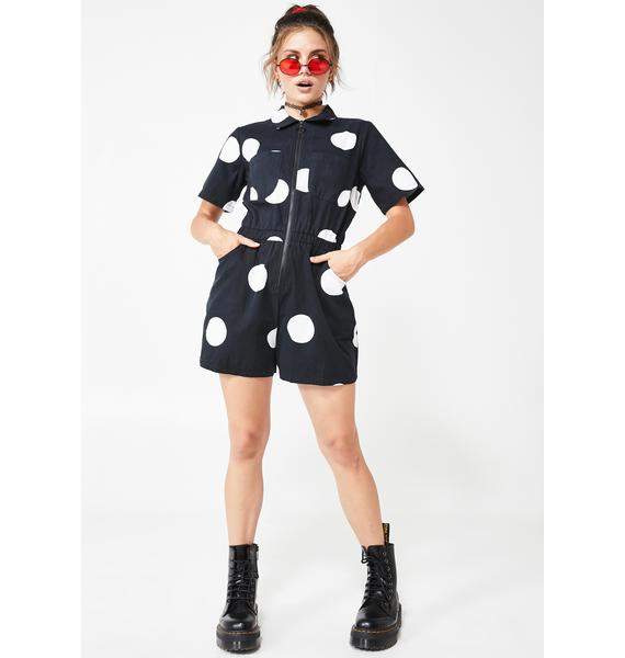 Lazy Oaf Polka Dot Playsuit