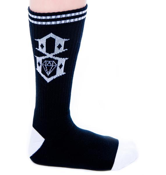 Rebel8 Logo Socks