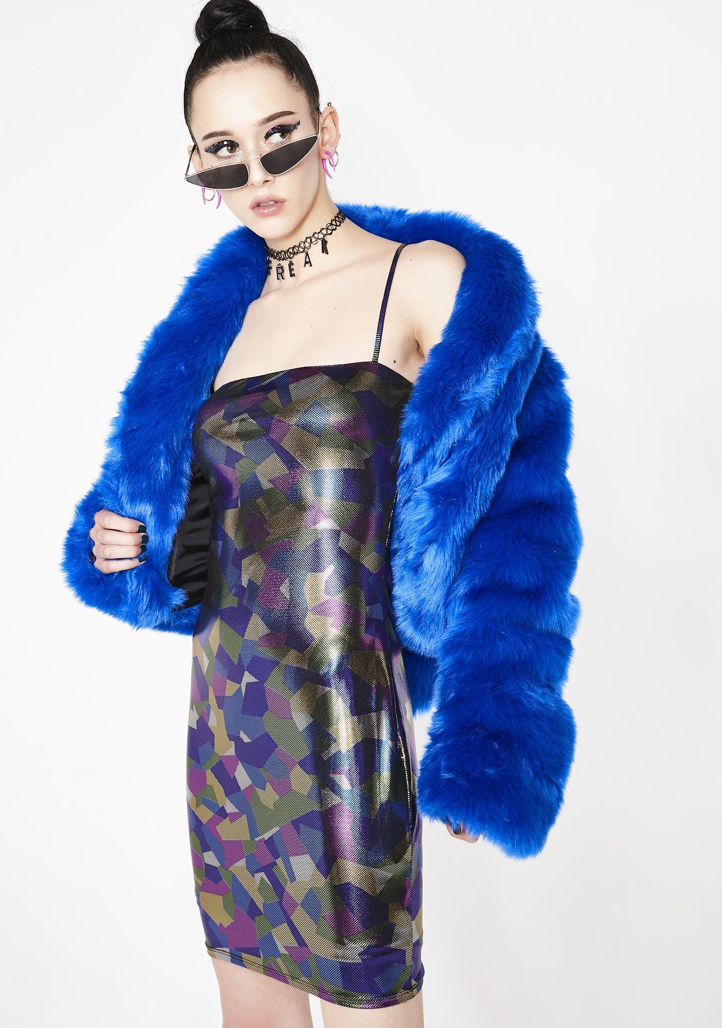 Dark Confetti Mini Dress
