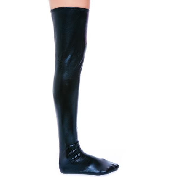 So Slick n' Wet Knee Socks