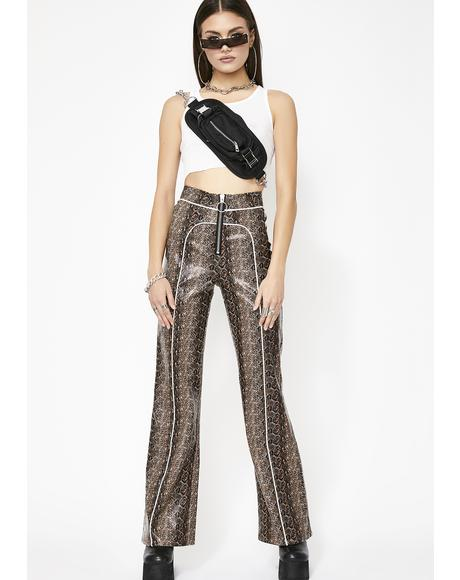 Whiskey Switchblade Sis Zip Pants