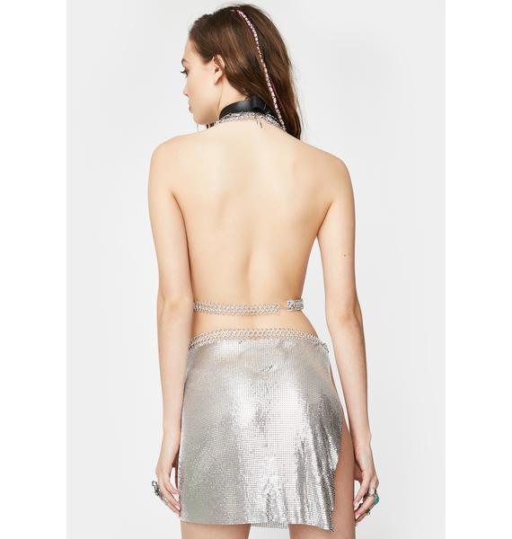 Shake That Thang Chain Skirt