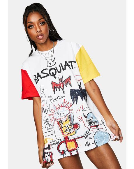 X Basquiat Bat Graphic Tee