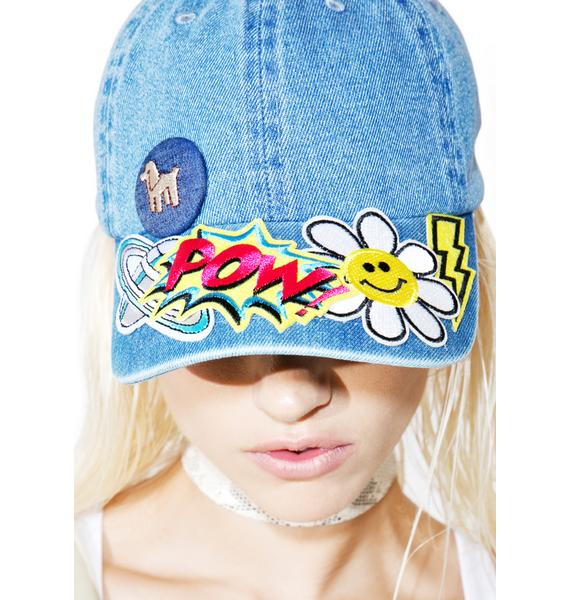 Cartoon Heroes Dad Hat