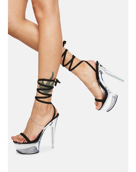 About It Strappy Heels
