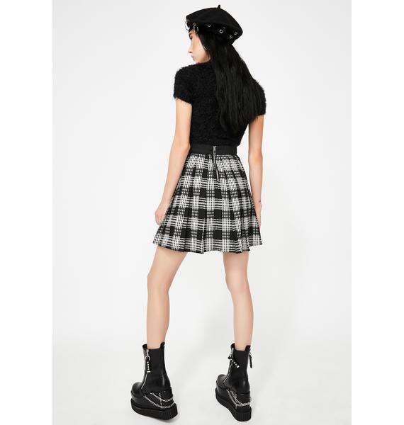 Disturbia Matilde Tartan Skirt