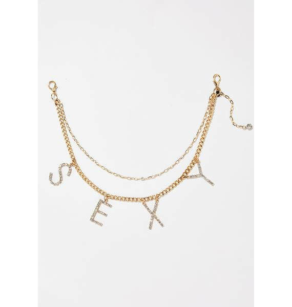 American Deadstock Sexy Jewel Belt Chain