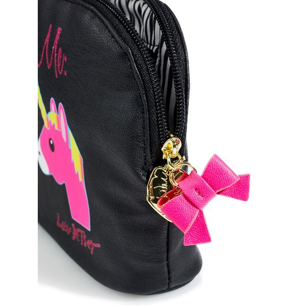 Betsey Johnson Horse Or Unicorn Clutch