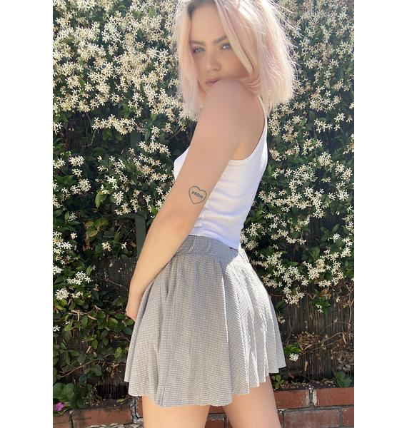 Free People Grey One Of The Girls Lounge Shorts