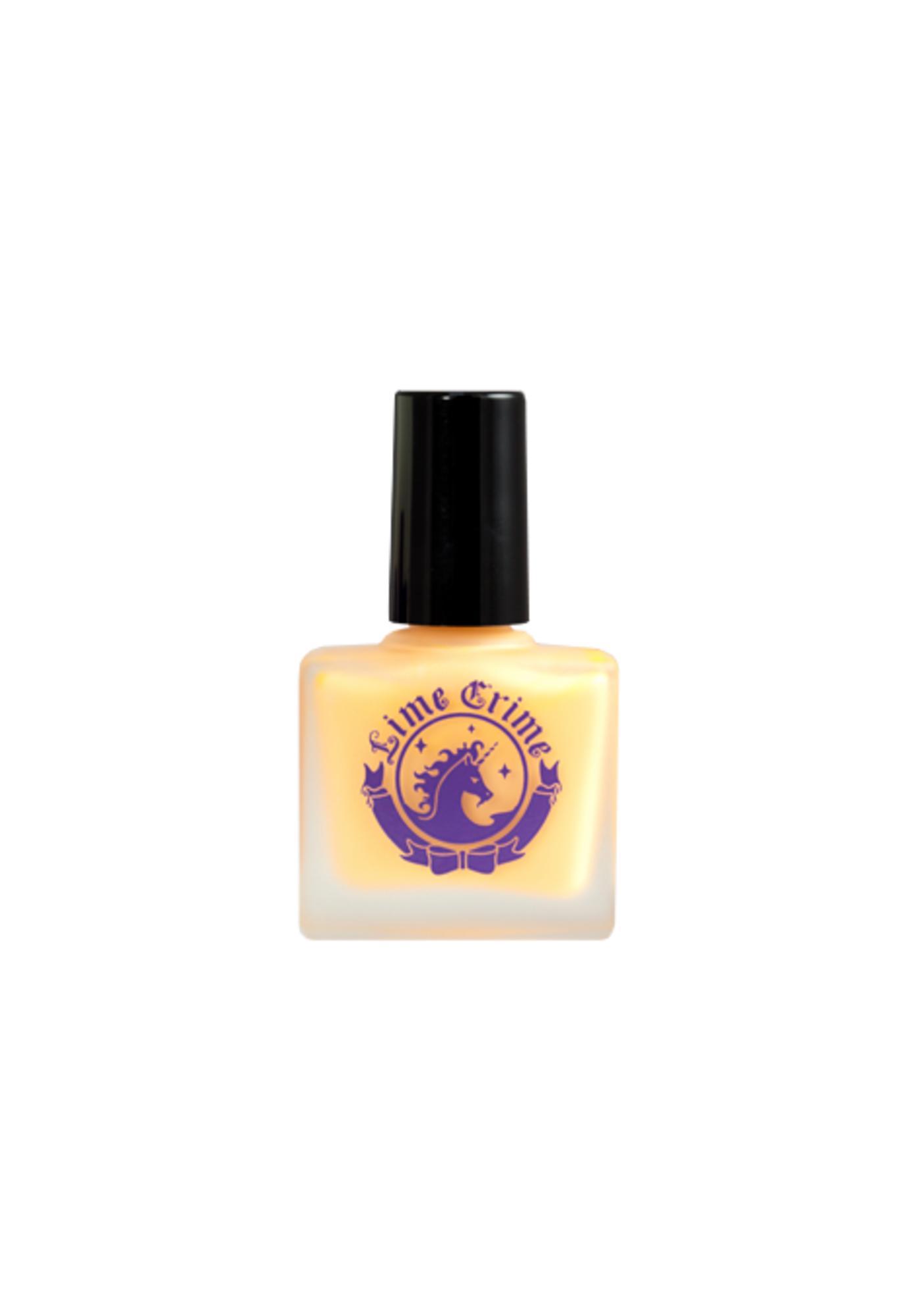 Lime Crime Peaches <3 Cream Opaque Nail Polish