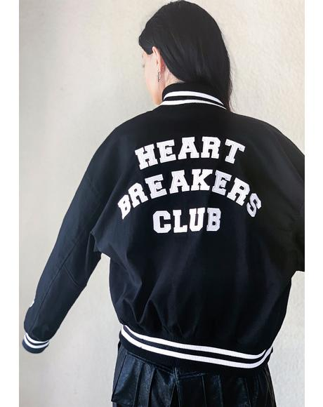 Run The Bases Varsity Jacket