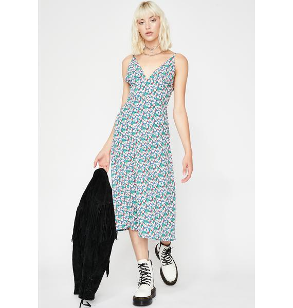 Bloomin' Bunch Floral Dress
