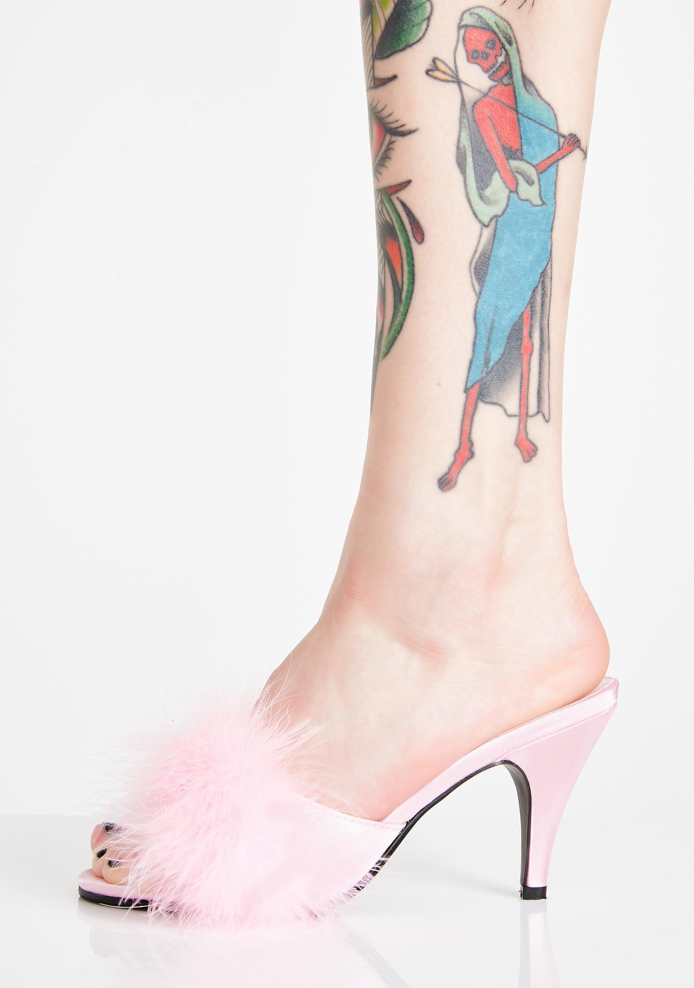 Fabulicious Posh Princess Fluffy Heels