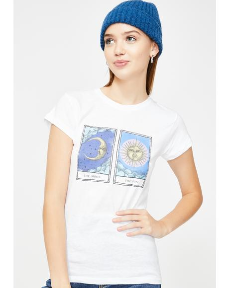 The Moon And The Sun Graphic Tee