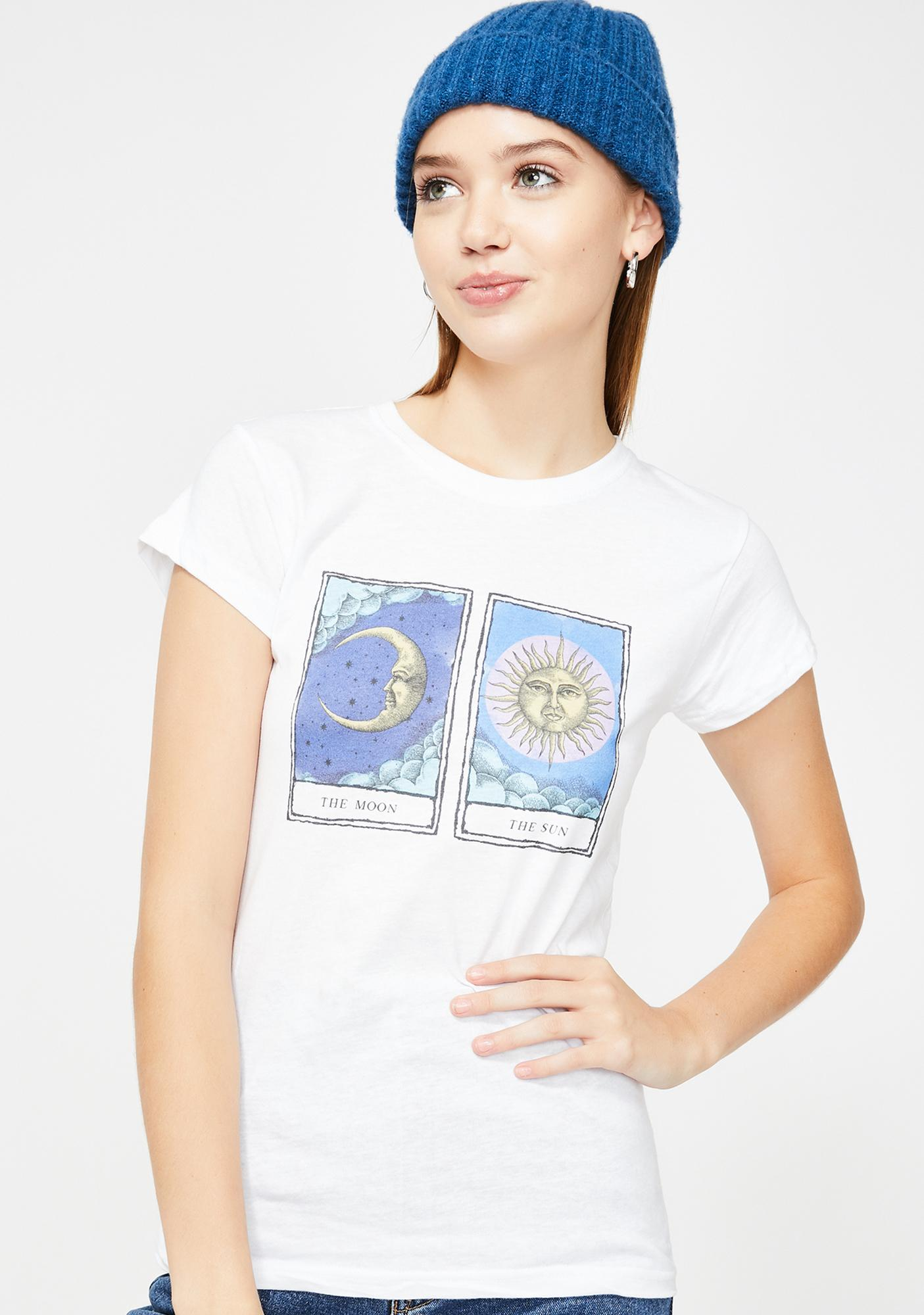 The Moon And The Sun Graphic Tee by Minga
