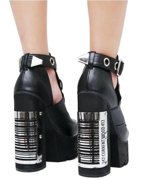 Bar Code Heels