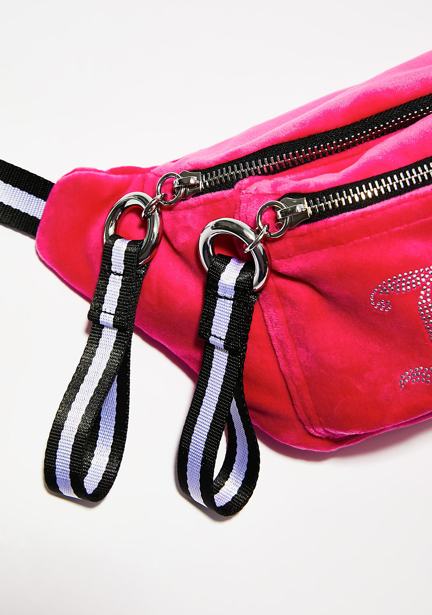 JUICY COUTURE Juicy Velour Fanny Pack